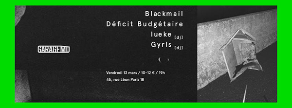 blackmail deficit budgetaire